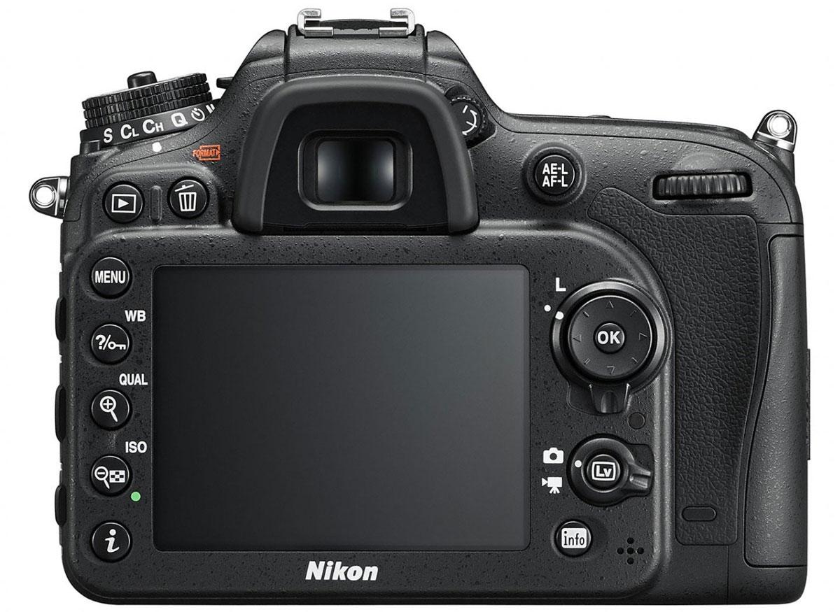 Nikon D7200 Kit 18-140 VR, Black цифровая зеркальная фотокамера