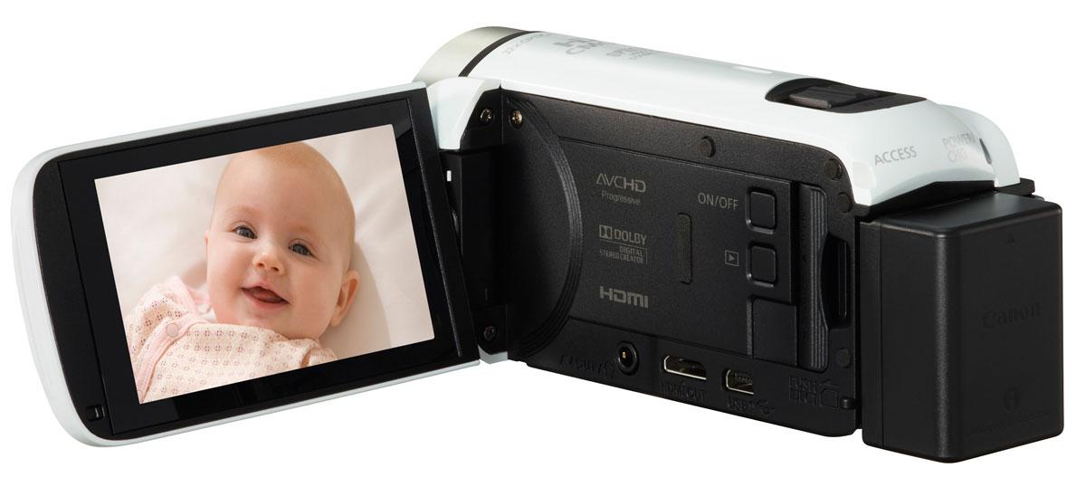 Canon LEGRIA HF R606, White цифровая видеокамера