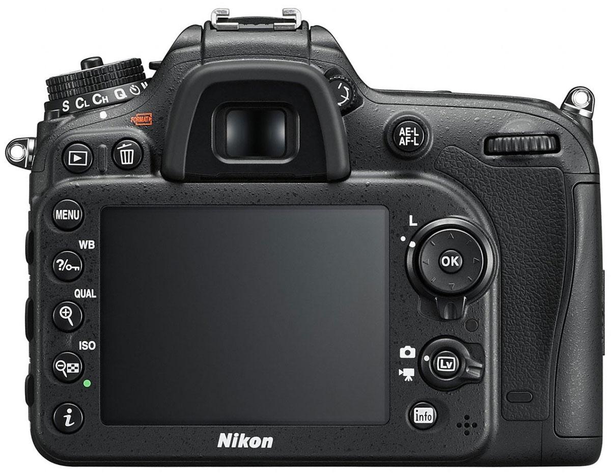 Nikon D7200 Kit 18-105 VR, Black цифровая зеркальная фотокамера