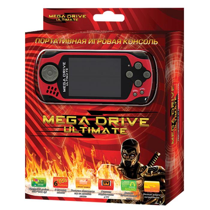 Портативная игровая приставка MegaDrive Ultimate (красная) ( VG-1626 )