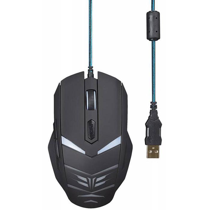 Oklick 745G Legacy, Black Blue игровая мышь ( MW-1301 )