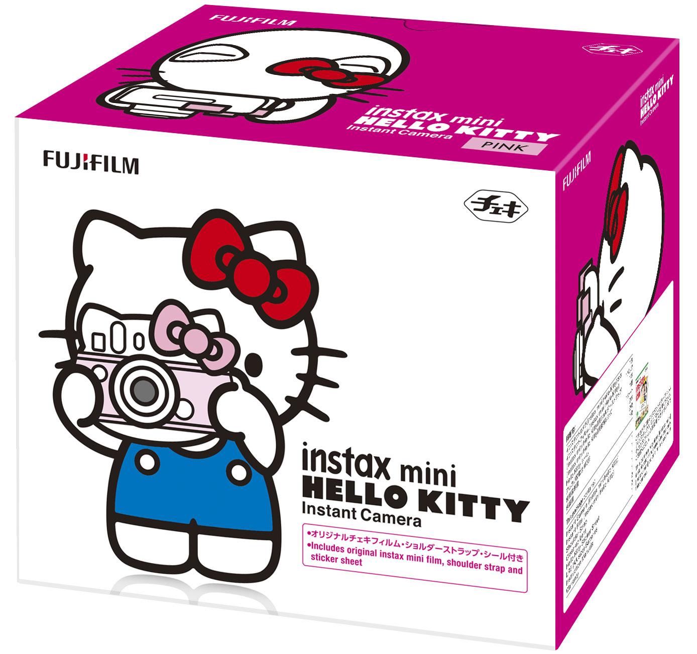 Fujifilm Instax Mini Hello Kitty, Pink фотоаппарат моментальной печати