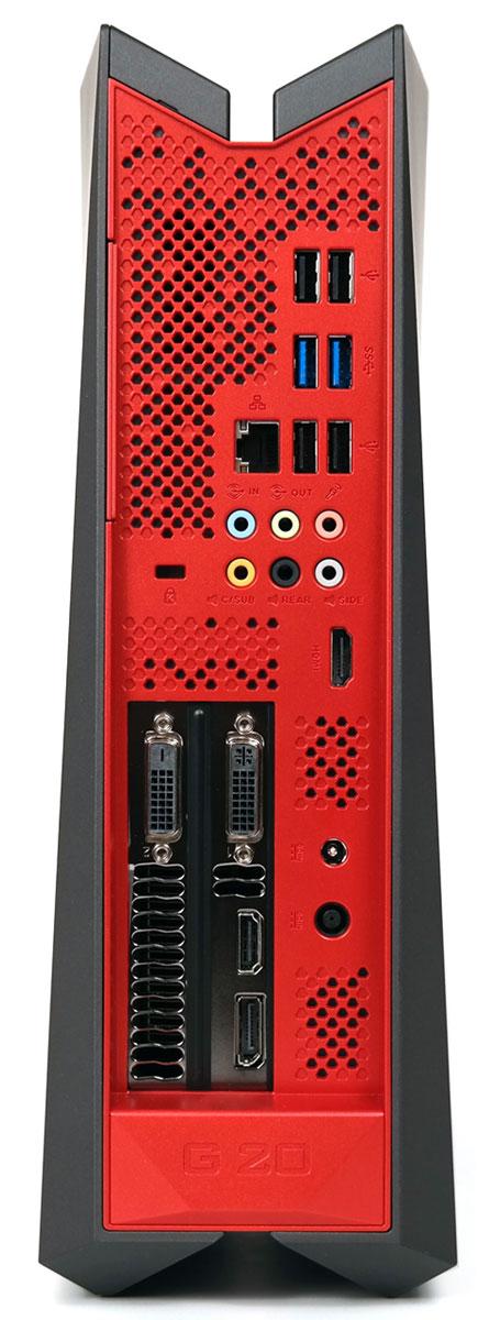 Asus ROG G20AJ-RU013S, Black настольный компьютер (90PD00R1-M05820)