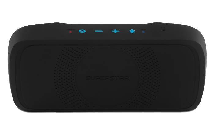 Monster SuperStar BackFloat, Black Blue портативная акустическая система
