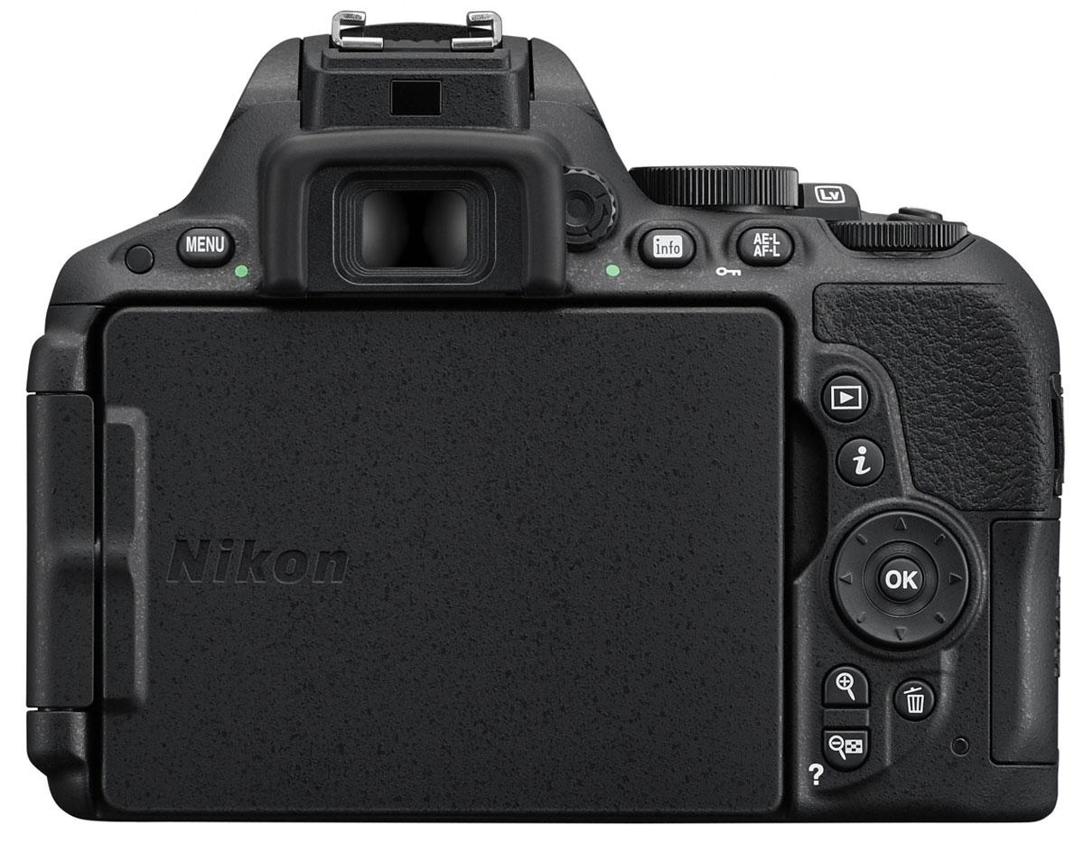 Nikon D5500 Kit 18-140mm VR, Black цифровая зеркальная фотокамера