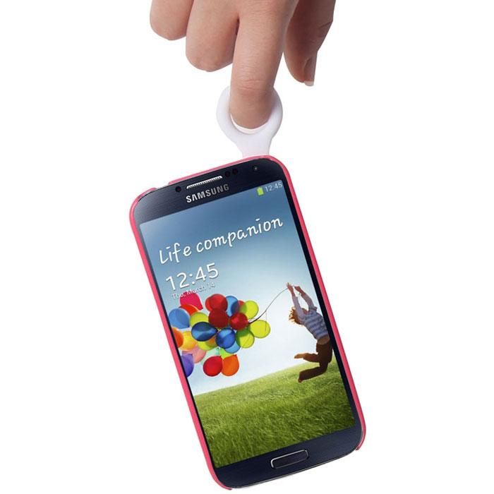 Promate Pless-S4 чехол-накладка для Samsung Galaxy S4, Red
