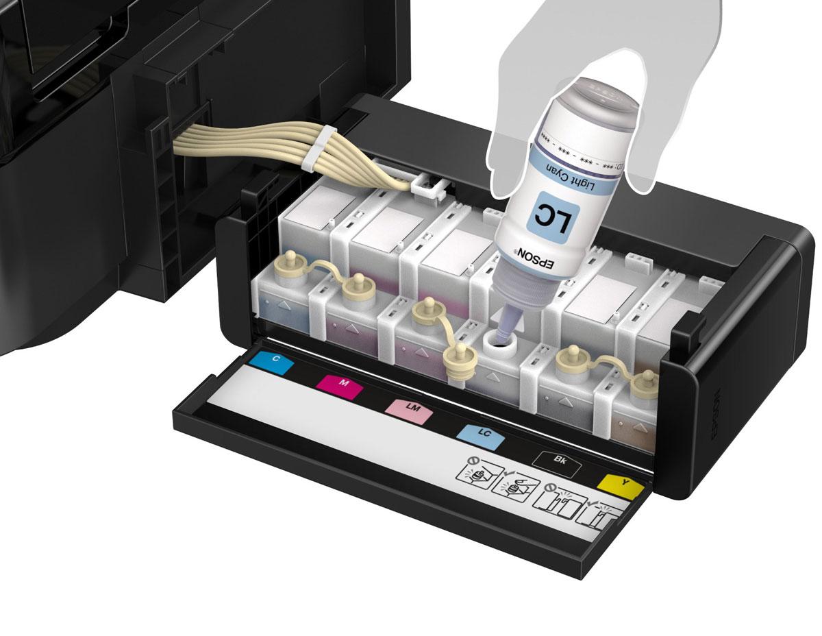 Epson L810 6-цветный принтер