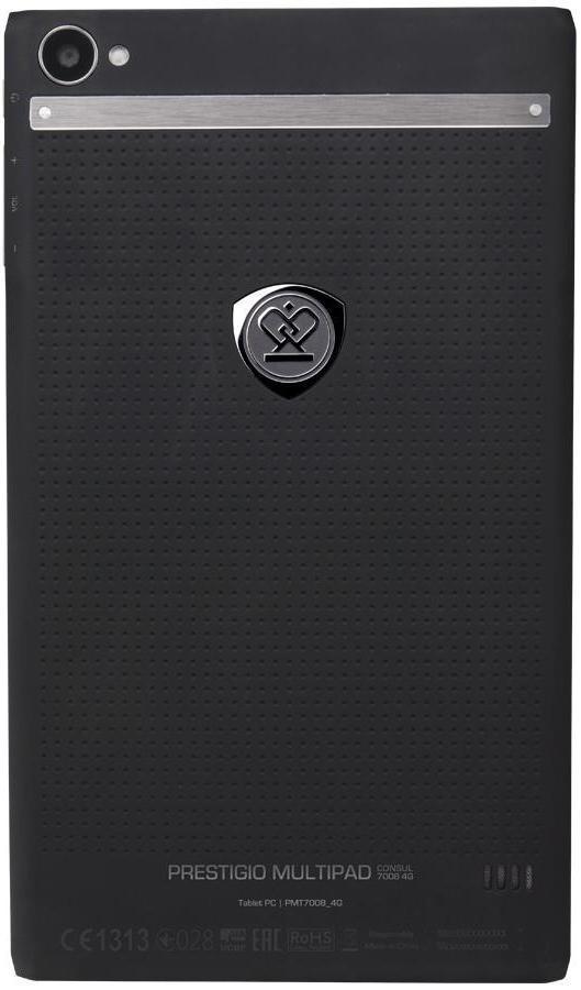 Prestigio MultiPad Consul 7008 4G, Black