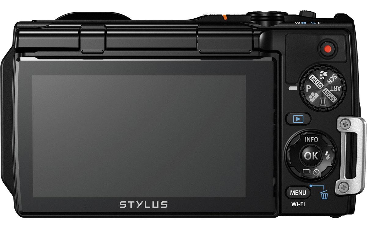 Olympus TG-860, Black цифровая фотокамера