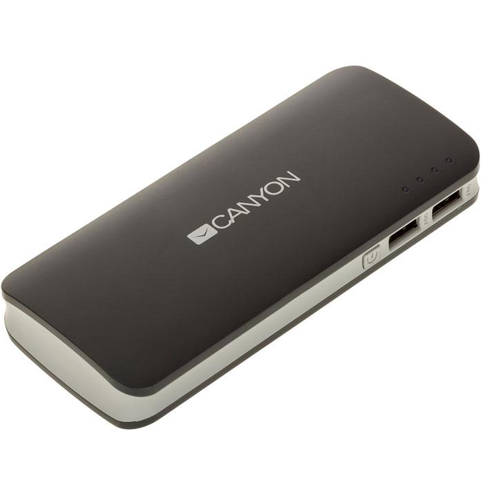 Canyon CNE-CPB100DG, Dark Grey внешний аккумулятор (10000 мАч) ( CNE-CPB100DG )