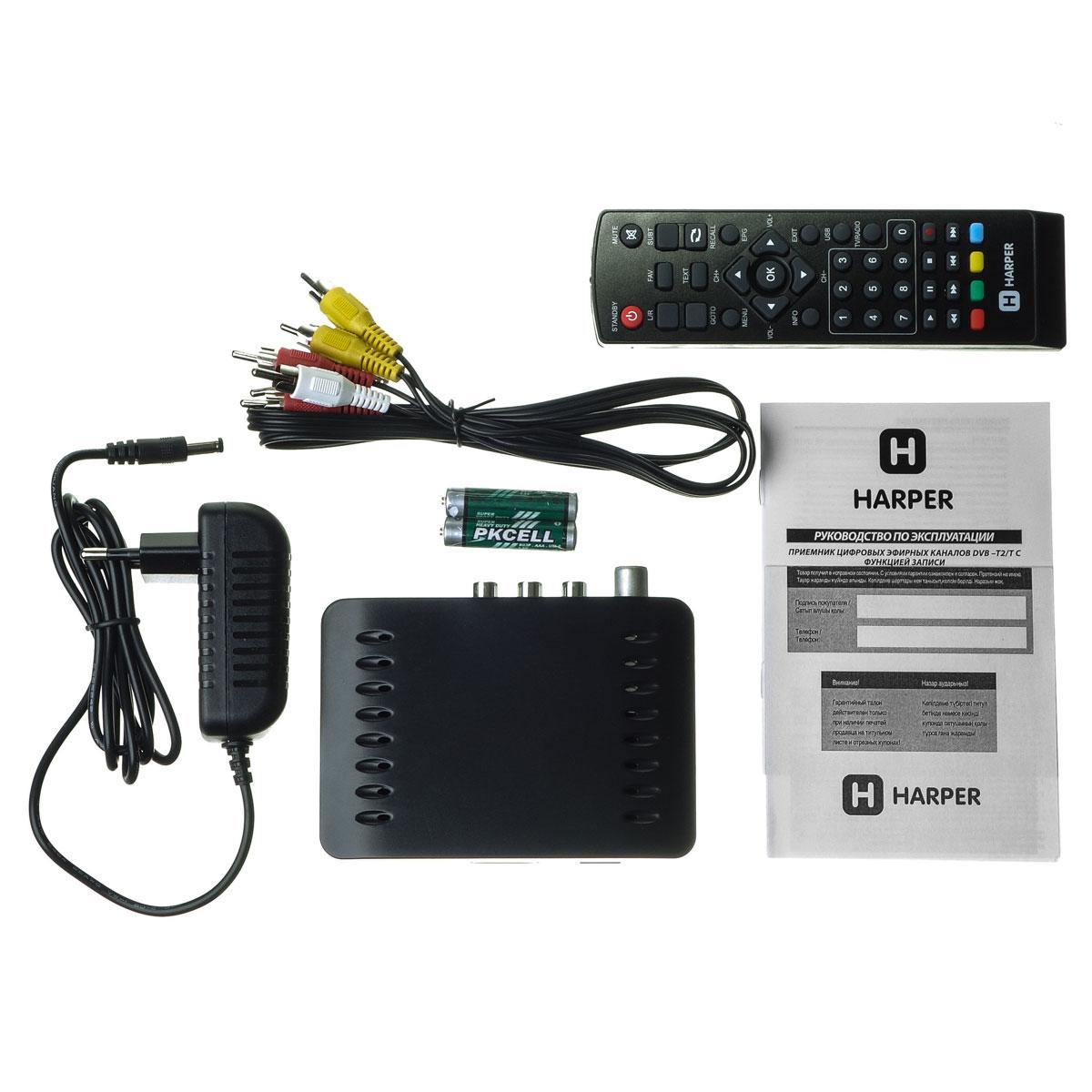 Harper HDT2-1110 телевизионный ресивер DVB-T2