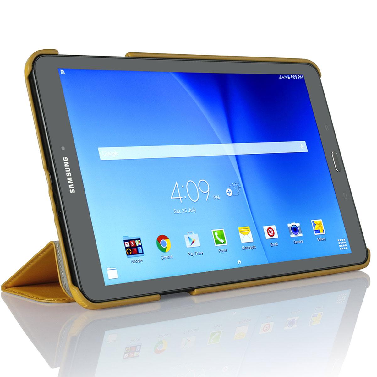 G-Case Slim Premium чехол для Samsung Galaxy Tab Е 9.6, Orange