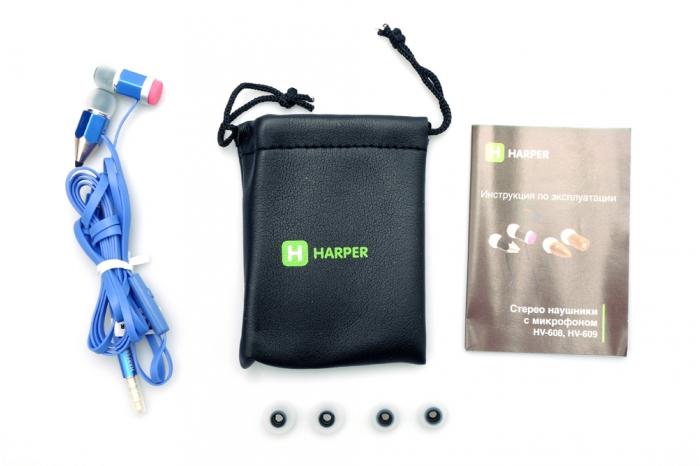 Harper HV-608, Blue наушники