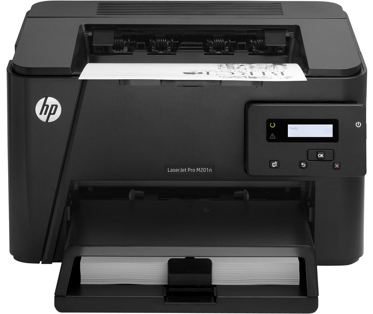 HP LaserJet Pro M201n (CF455A) лазерный принтер ( CF455A )