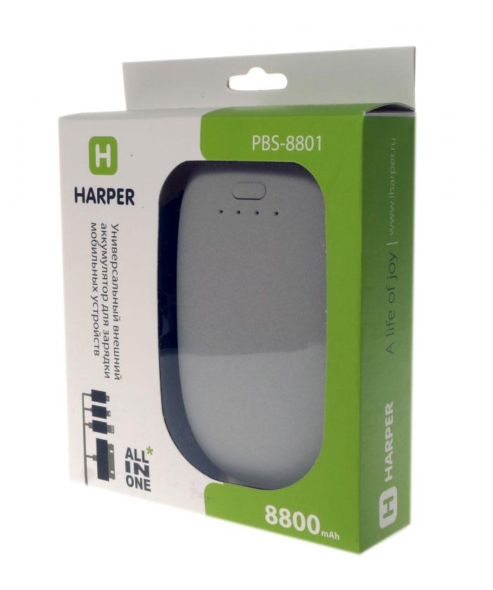 Harper PBS-8801, Beige внешний аккумулятор