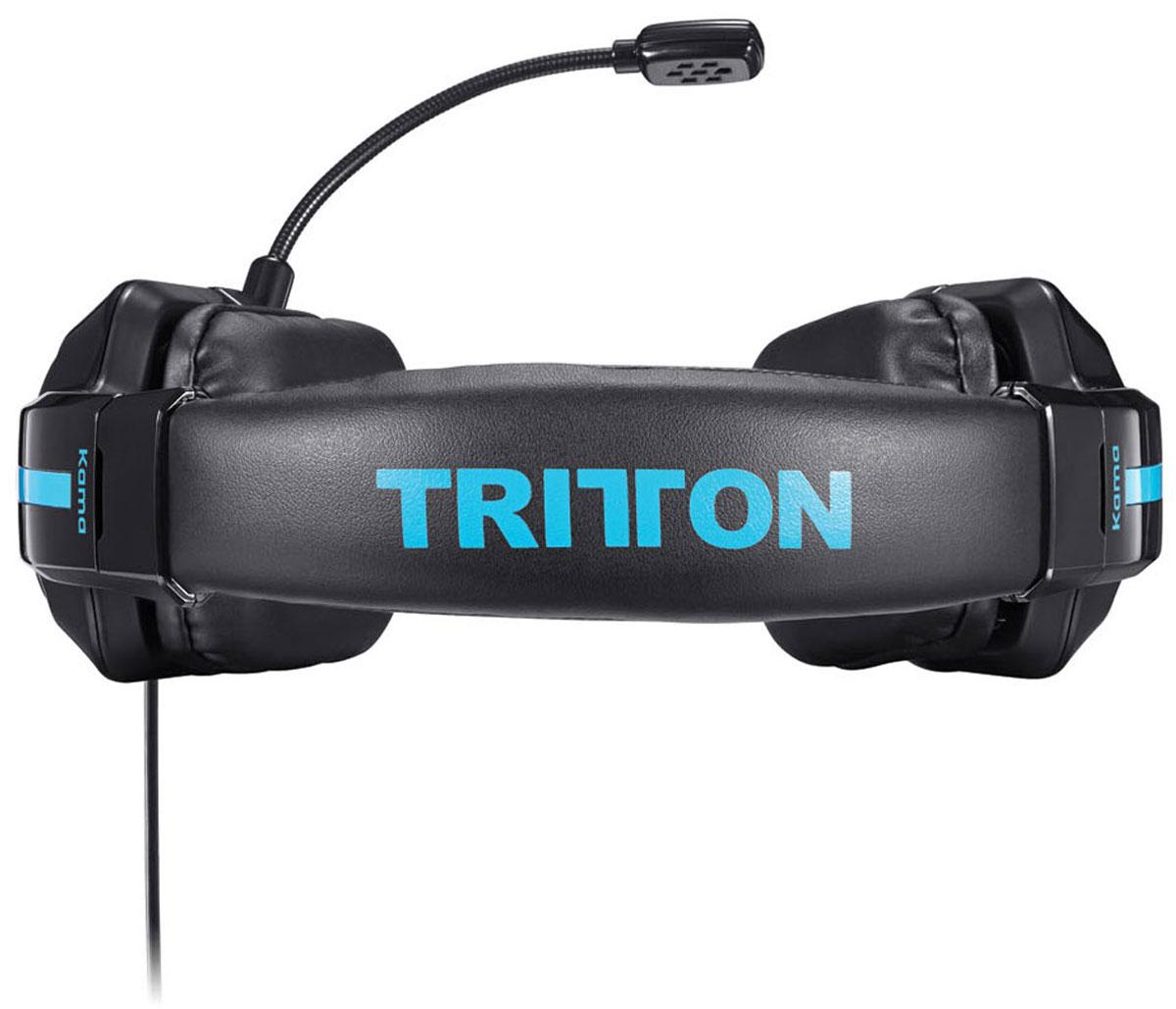 Tritton Kama Stereo Headset, Black игровая гарнитура PS4/PS Vita (TRI906390002/02/1)