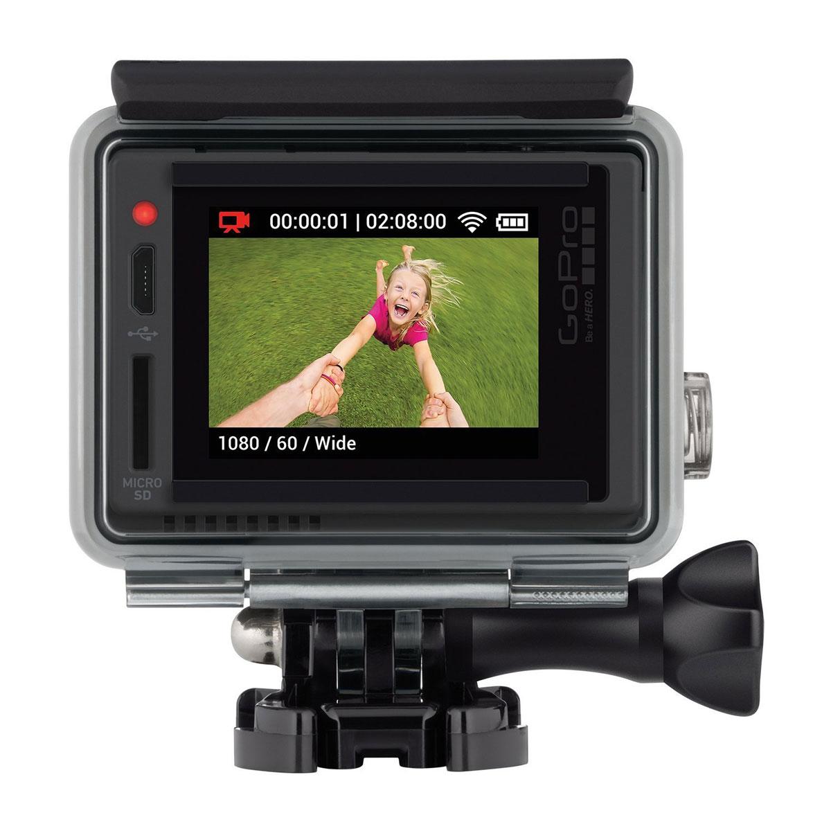 GoPro Hero+ LCD, Grey экшн-камера (CHDHB-101)