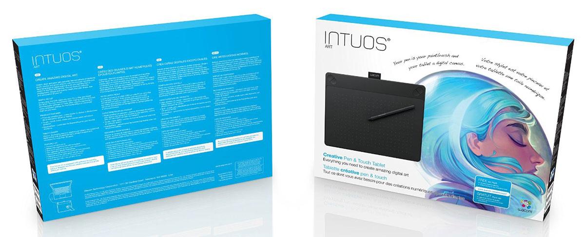 Wacom Intuos Art PT M, Black графический планшет (CTH-690AK-N)