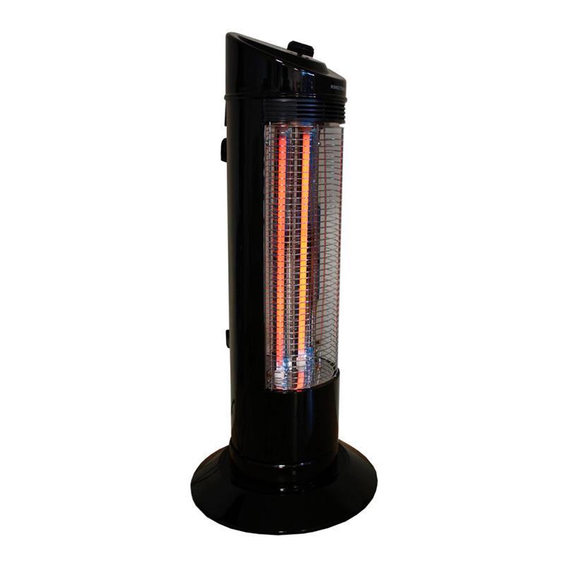 Zenet QH-1200, Black кварцевый обогреватель ( QH-1200 black )