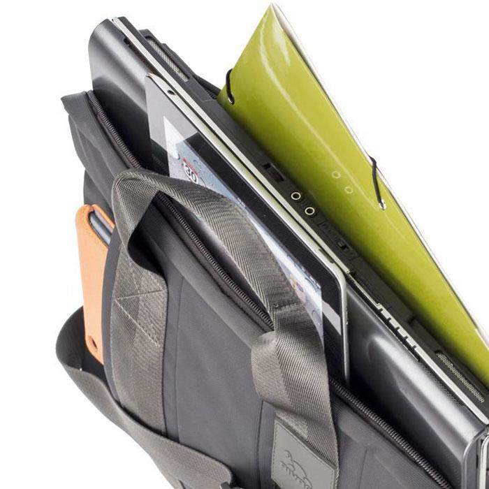 "Riva 8830 сумка для ноутбука 15,6"", Grey ( RivaCase 8830 grey )"