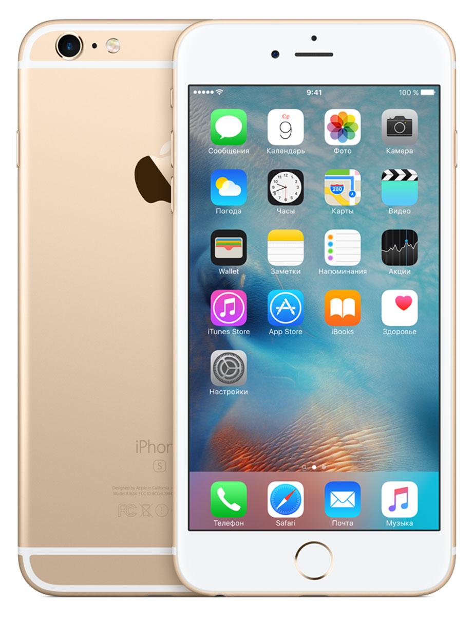 Apple iPhone 6s Plus 16GB, Gold ( MKU32RU/A )