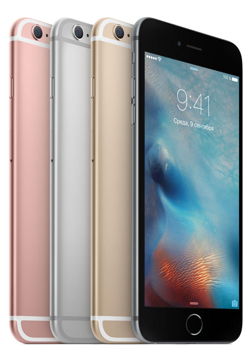 Apple iPhone 6s Plus 64GB, Silver ( MKU72RU/A )