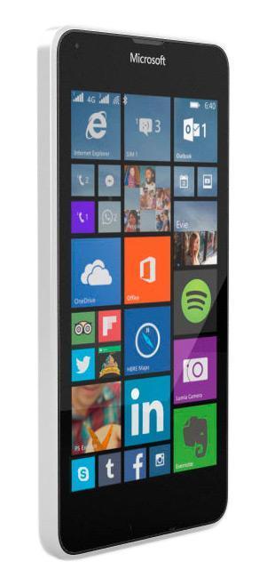 Microsoft Lumia 640 LTE, White ( A00024882 )