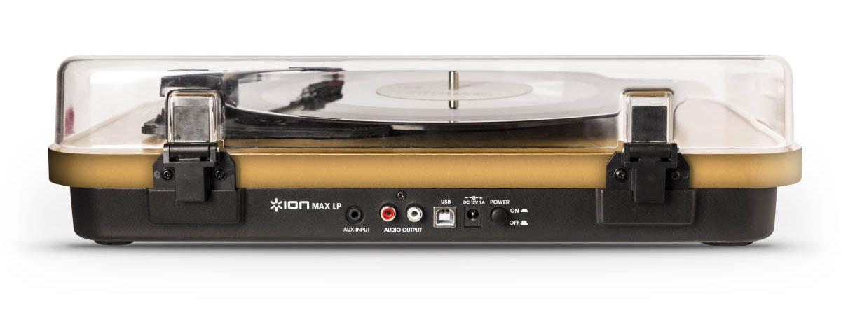 ION Audio MAX LP проигрыватель винила со встроенными динамиками