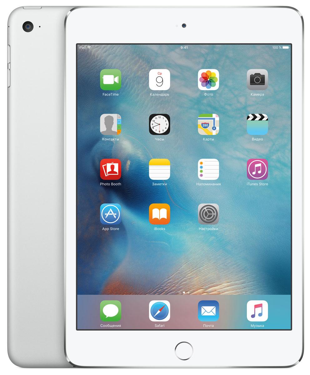 Apple iPad mini 4 Wi-Fi 16GB, Silver ( MK6K2RU/A )