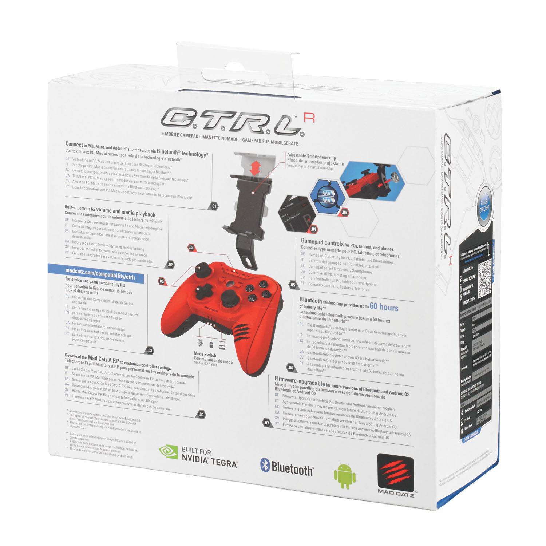 Mad Catz C.T.R.L.R, Gloss Red беспроводной геймпад (MCB322660013/04/1)