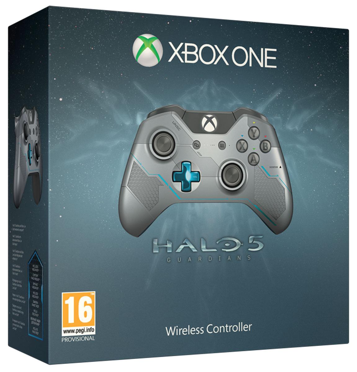 Xbox One Беспроводной геймпад Halo 5 Guardians Spartan Locke (GK4-00007)