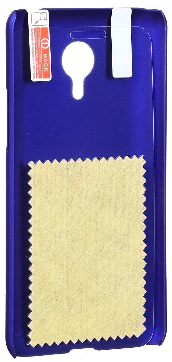 Skinbox 4People чехол для Meizu MX4 Pro, Blue