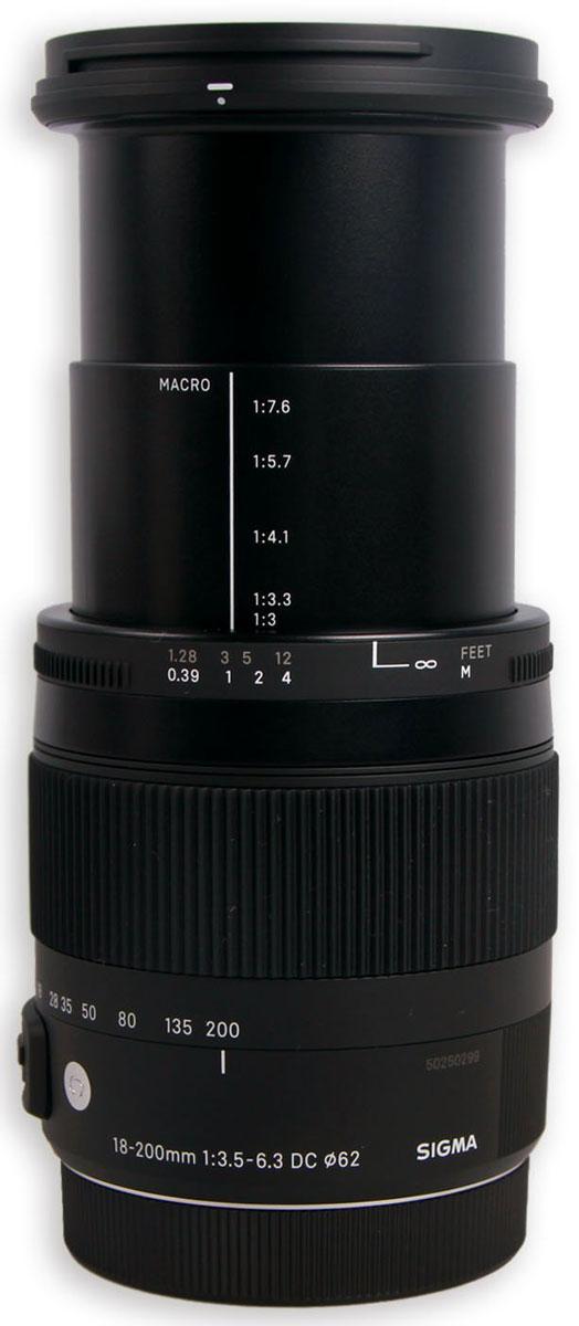 Sigma AF 18-200mm F/3.5-6.3 DC MACRO OS HSM/C, Black объектив для Nikon