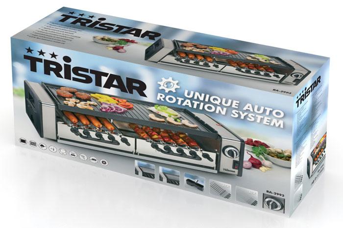 Tristar RA-2993 гриль-шашлычница
