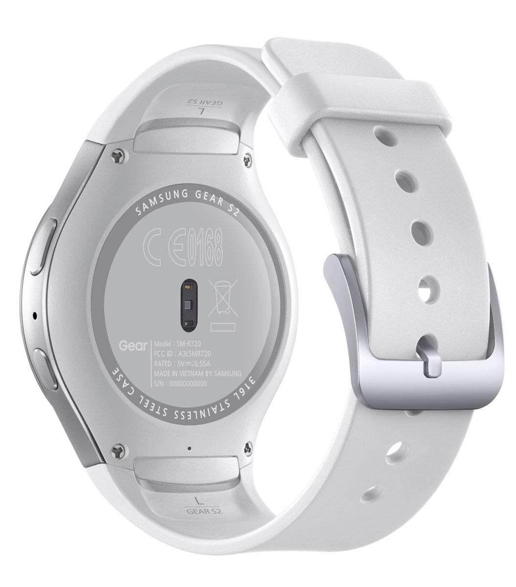 Samsung Gear S2 (SM-R720), White смарт-часы