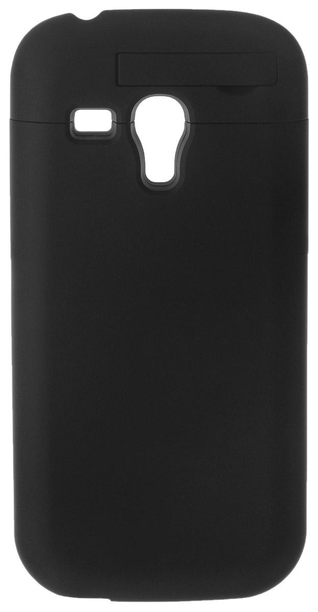 EXEQ HelpinG-SC01 чехол-аккумулятор для Samsung Galaxy S3 mini, Black (1900 мАч, клип-кейс) ( HelpinG-SC01 BL )