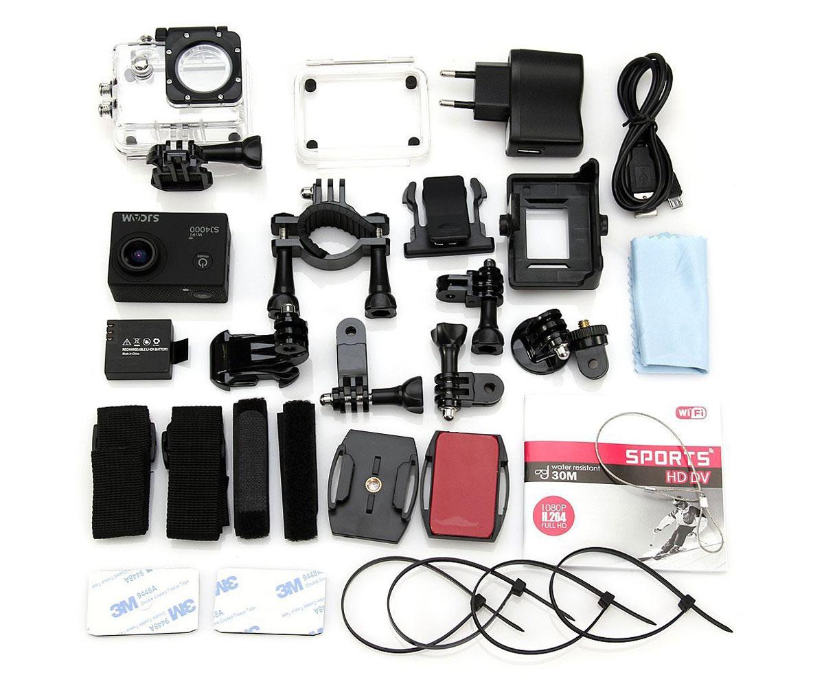 SJCAM SJ4000 Wi-Fi, Black экшн-камера