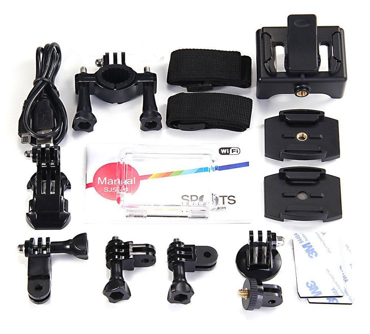 SJCAM SJ5000 WiFi, Black экшн-камера