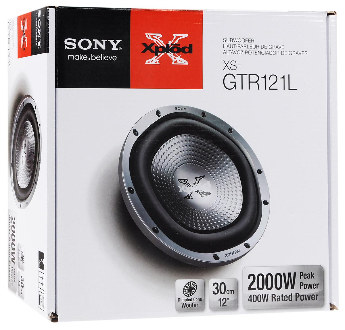 Sony XS-GTR121L автосабвуфер