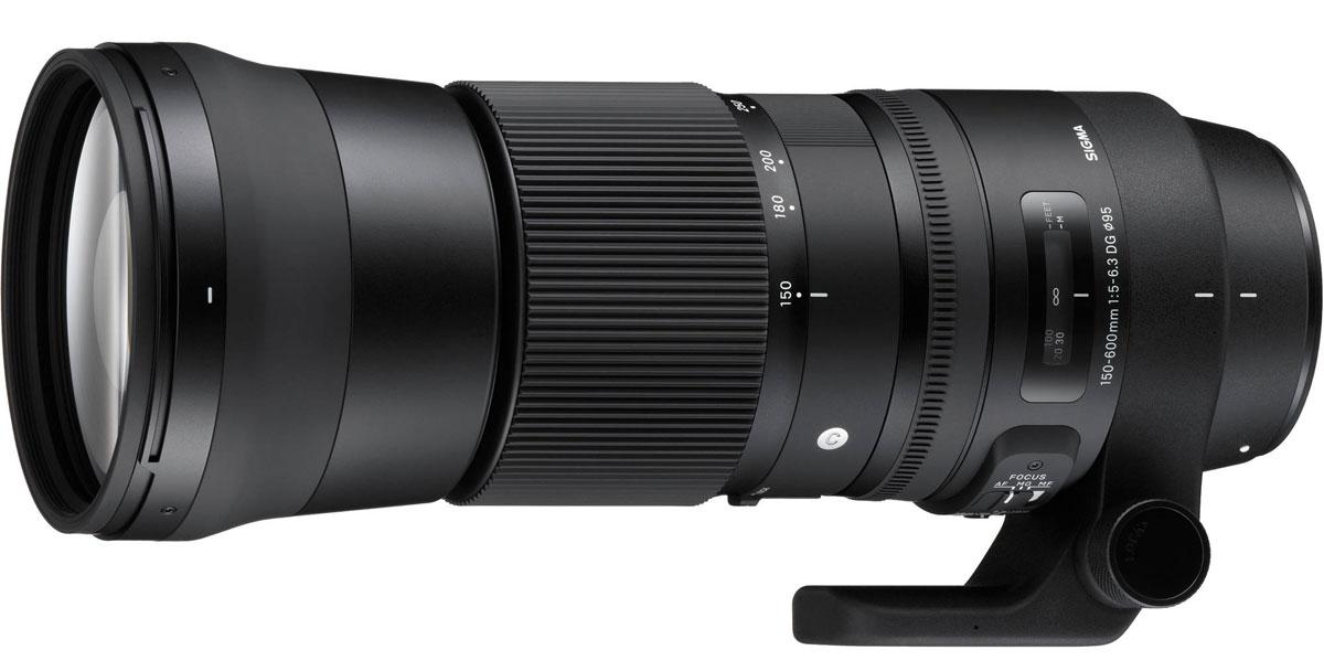 Sigma AF 150-600mm F/5-6.3 DG OS HSM|C, Black объектив для Nikon