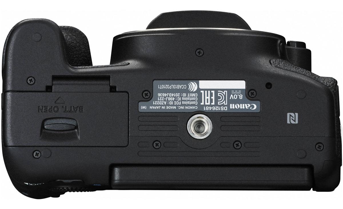 Canon EOS 760D Body цифровая зеркальная фотокамера