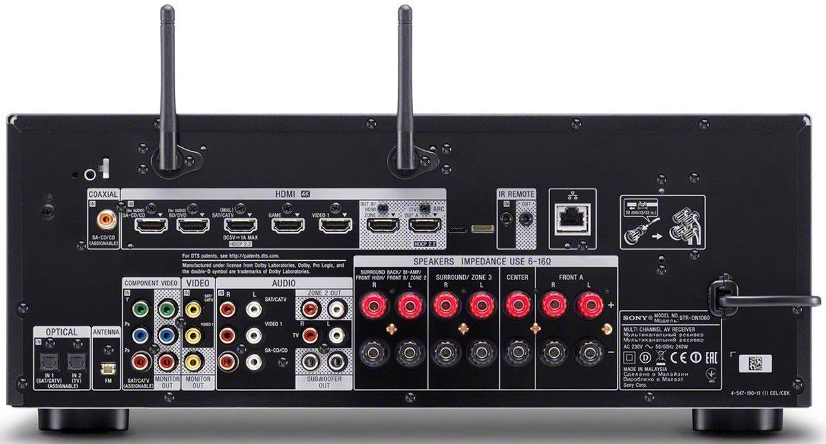 Sony STR-DN1060 AV-ресивер для домашнего кинотеатра
