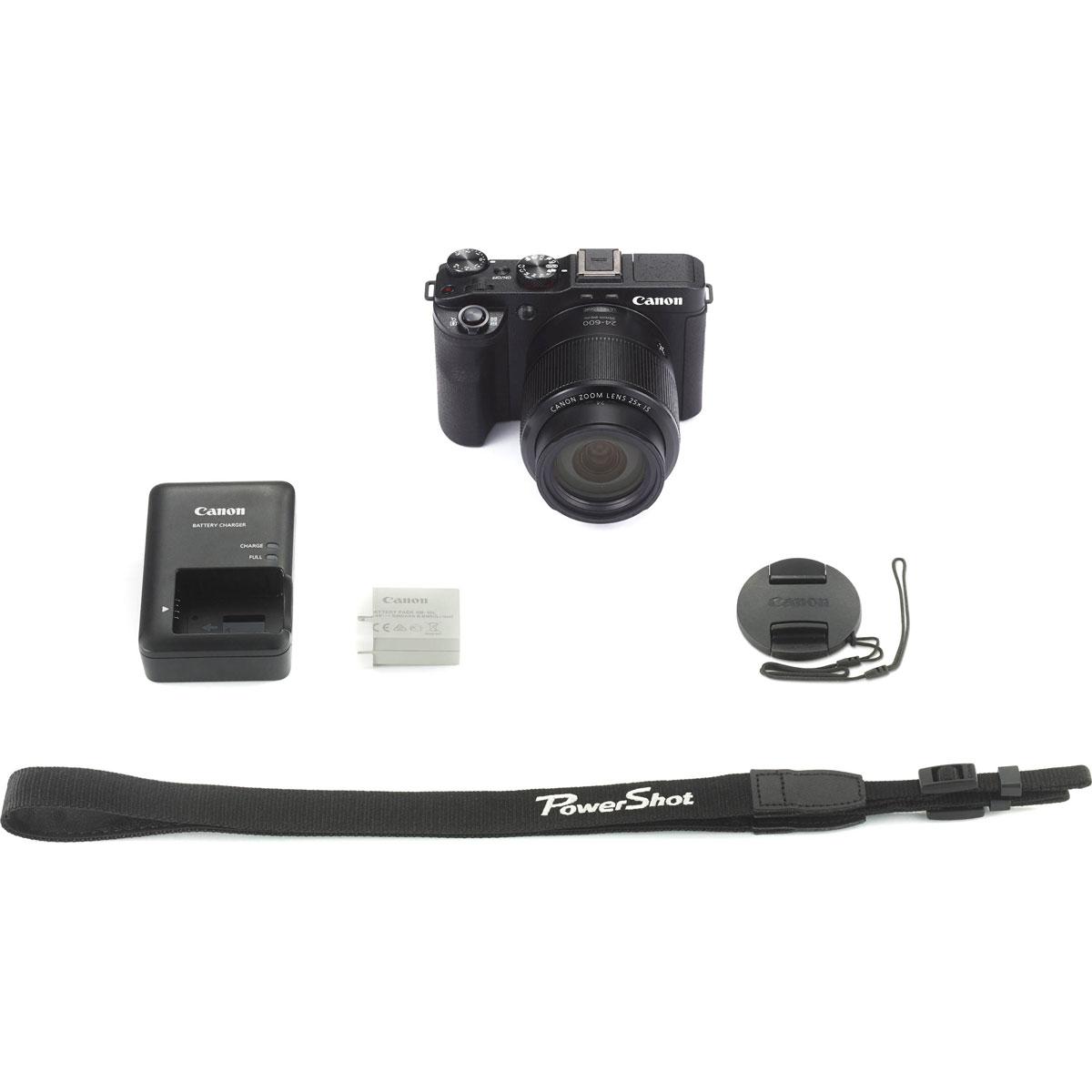 Canon PowerShot G3 X, Black цифровая фотокамера