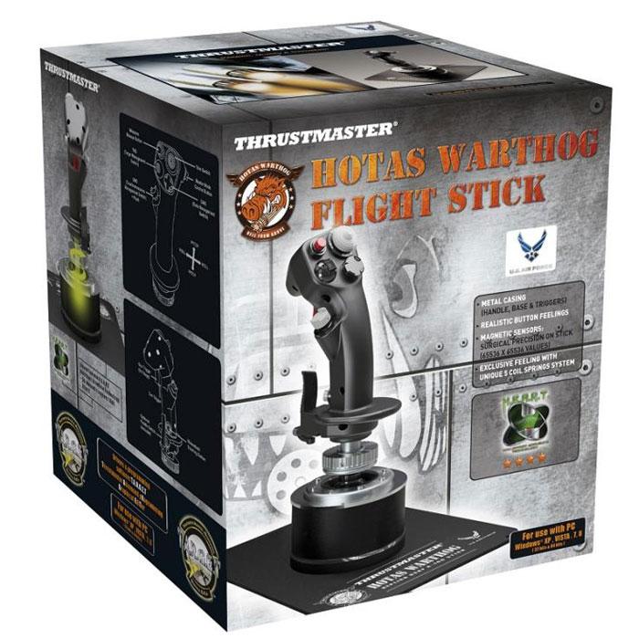 Thrustmaster Warthog Flight Stick, Black джойстик