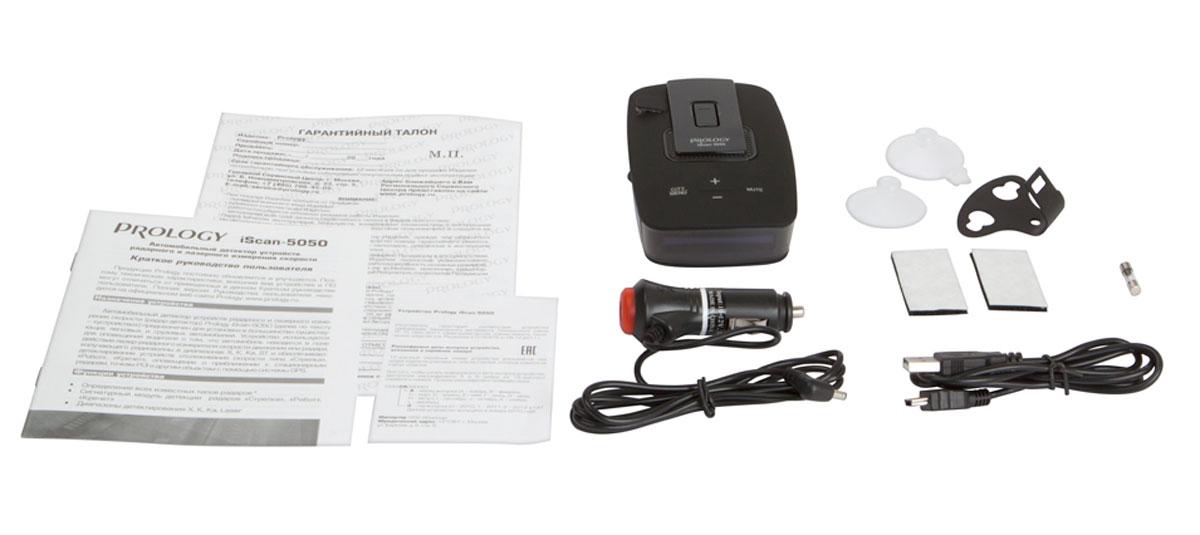 Prology iScan-5050 GPS, Graphite радар-детектор