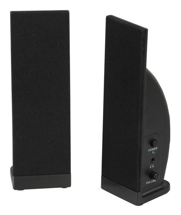 Sven 230, Black акустическая система 2.0 ( SV-0110230BK )