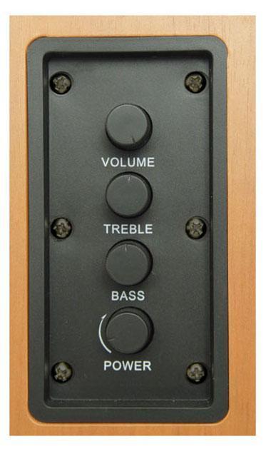 Sven SPS-611S, Wood акустическая система 2.0