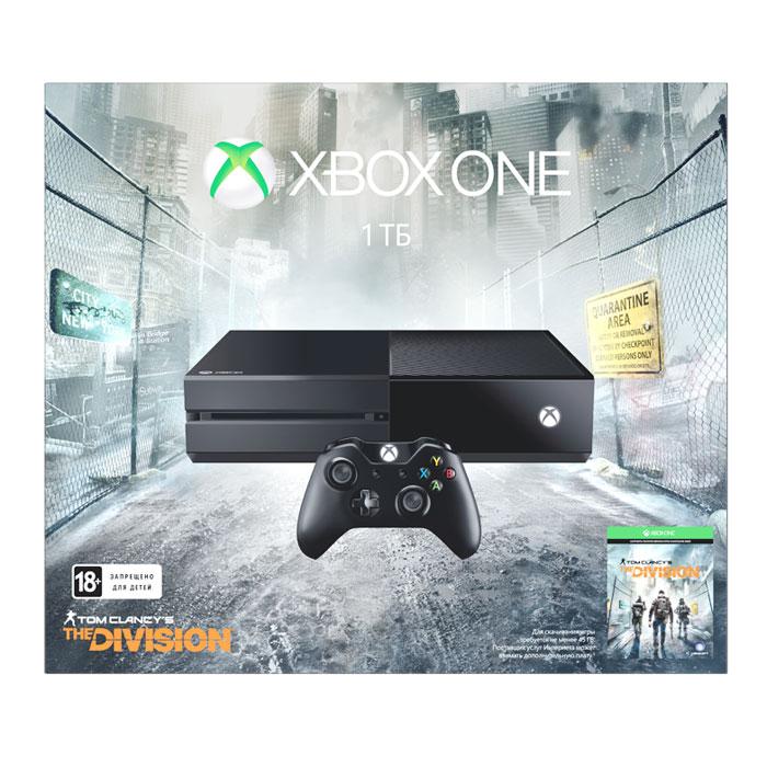 Игровая приставка Xbox One 1 TB + Tom Clancy\'s The Division ( KF7-00139 )
