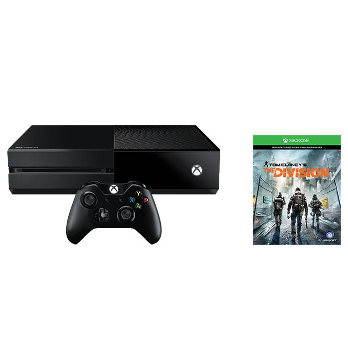 Игровая приставка Xbox One 1 TB + Tom Clancy's The Division