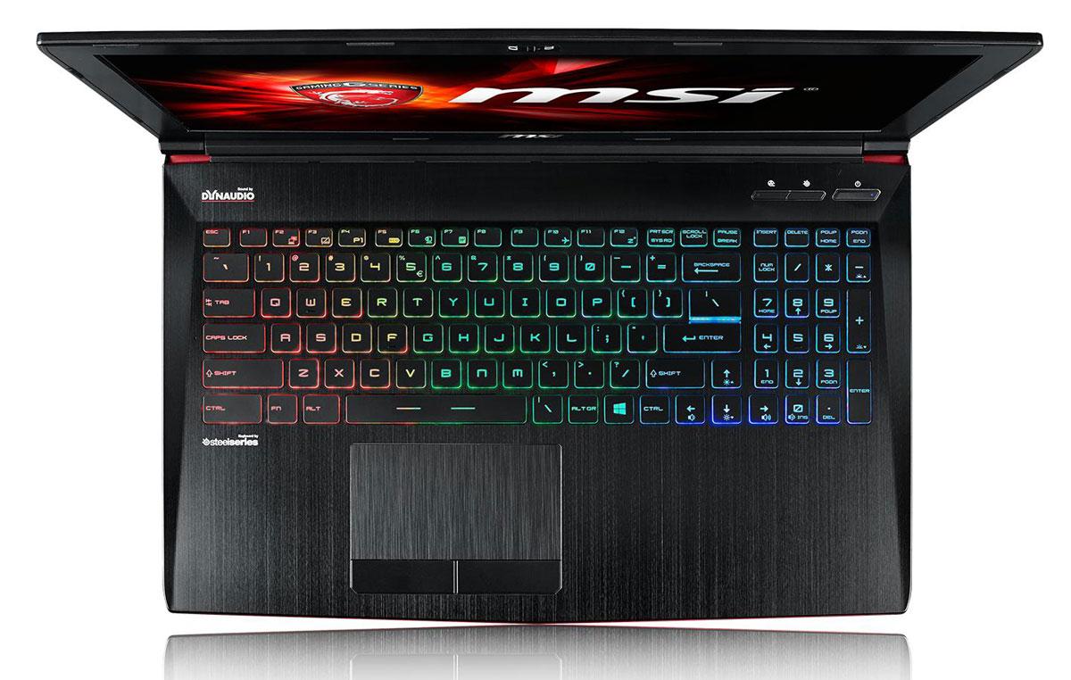 MSI GE62 6QF-010XRU Apache Pro, Black ( GE62 6QF-010XRU )